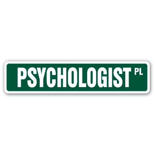 """18/"""" Wide SCHOOL COUNSELOR Street Sign counseling psychologyIndoor//Outdoor"""