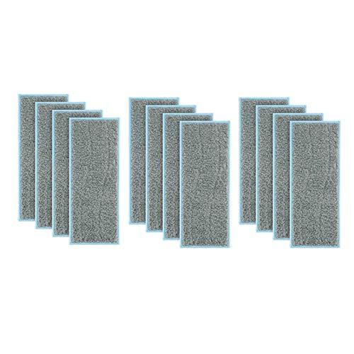 Útiles 12 unids paño de limpieza accesorios para IRobot Br