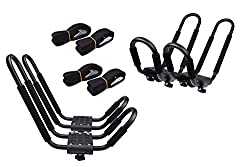 TMS J-Bar Rack Kayak Carrier - Best Kayak Roof Racks and Carriers