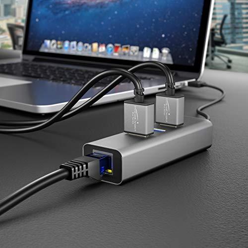 KabelDirekt – 5m – Netzwerkkabel, Ethernet, LAN & Patch Kabel (überträgt maximale Glasfaser Geschwindigkeit & ist geeignet für Gigabit Netzwerke, Switches, Router, Modems mit RJ45 Eingang, blau)