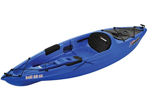 SUNDOLPHIN Sun Dolphin Bali SS Sit-on top Kayak (Blue, 10-Feet)