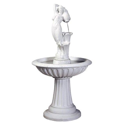 fantasieco! Stoneland Brunnen Verona - Lichtgrau