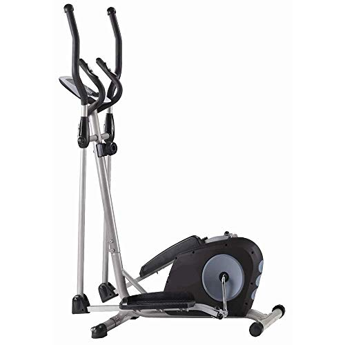 Great Features Of Luckya Cross Trainer Elliptical Machine Fitness Workout Cardio Training Machine Co...