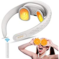 KPP Intelligent Portable Neck Massager with Heat (White)
