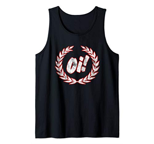 Oi Oi Oi! - Skinhead Ska and Street Punk Tank Top