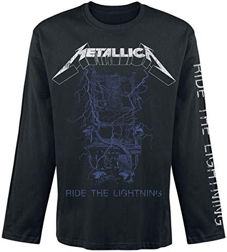 Metallica Fade Männer Langarmshirt schwarz XL 100% Baumwolle Band-Merch, Bands