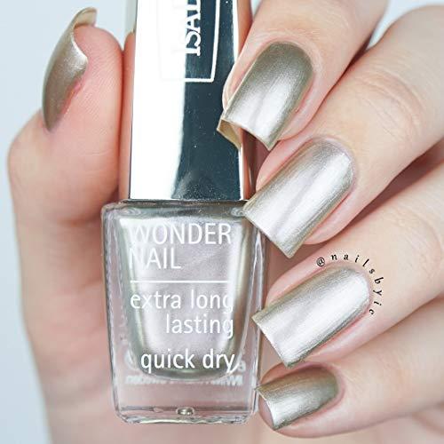 ISADORA WONDER NAIL extra long lasting GOLD 07