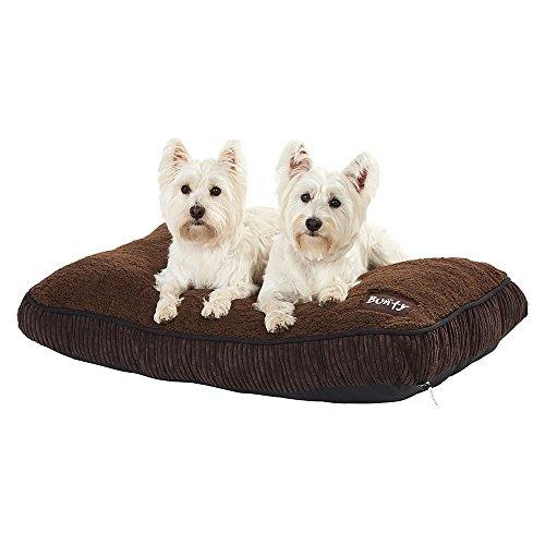 Colchón Bunty Snooze para perro, de felpa suave