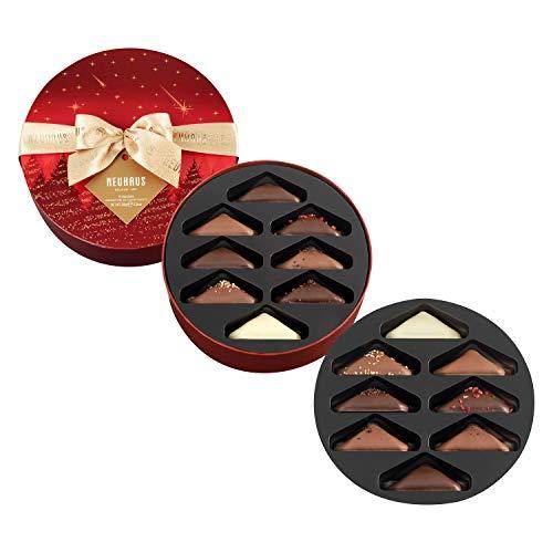 Neuhaus Weihnachten Rote Box mit Irresistibles Pralines, 330 g