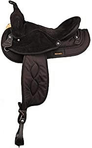 BIG HORN Synthetic Suede Full QH Trail Saddle