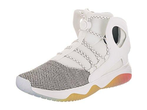 NIKE Men's Air Flight Huarache Ultra White Neoprene Basketball Shoes 10