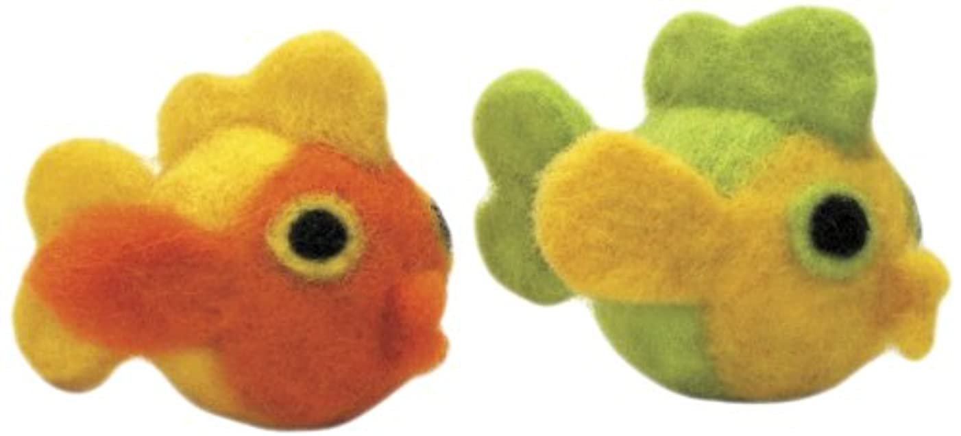 Dimensions Needlecrafts Round and Wooly Fish Needle Felting Kit