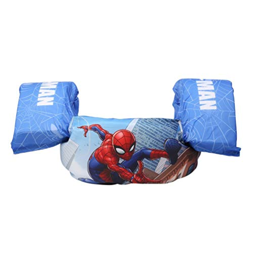 Toddler Life Jacket Kids Swim Vest Arm Swimming Float Bubble Swimsuit Spider-Man