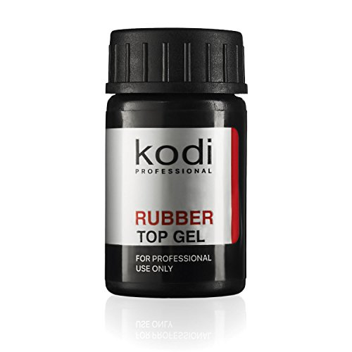 Profesional de goma Top Gel por KODI | 14ml 0,49oz | Soak Off polaco, las uñas Coat Kit | para larga duración de uñas capa | fácil de usar, no tóxico y scentless | cura en LED o lámpara de luz UV