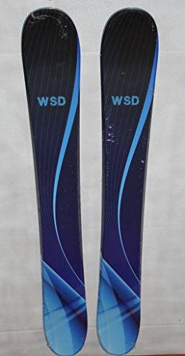 WSD Ski Boards Blue Wave Wide Ski Boards, Pair