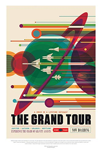 The Grand Tour: NASA JPL Visions of the Future Voyager Notebook Journal Diary Logbook