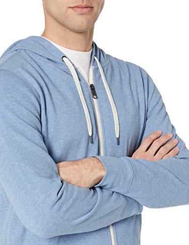 41eq9uoOD5L - Amazon Essentials Men's Lightweight French Terry Full-Zip Hooded Sweatshirt