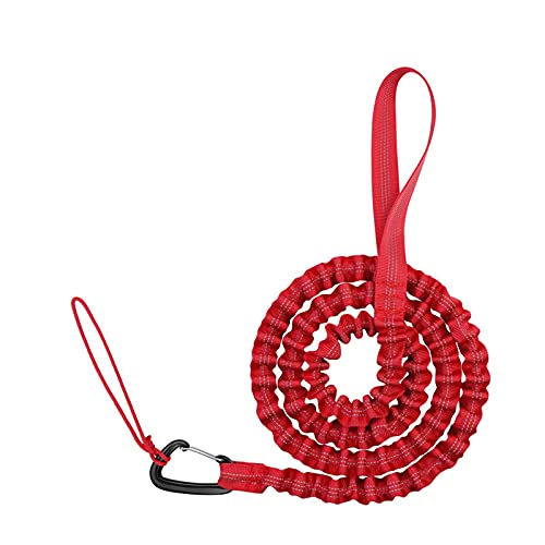 PPHU Bicycle Tow Mountain Bike Parent-Child Pull Rope Portable Outdoor Recovery & Tow Rope Strap Kinetic Energy Offroad Power Stretch Snatch Heavy-Duty Vehicle Recovery Rope Bigger Family Rides