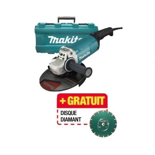 Makita GA9060KD Winkelschleifer 2200 W, 240 V, blau, 230 mm