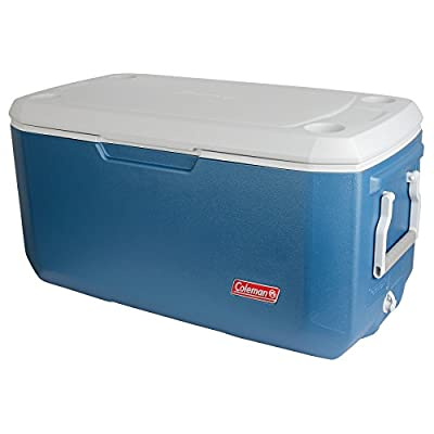 Coleman 120-Quart Cooler, Blue