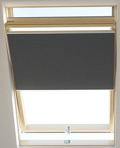 Vidella Dachfenster Thermoplissee thermolux universal passend 67 cm, grau, HCB-6 67