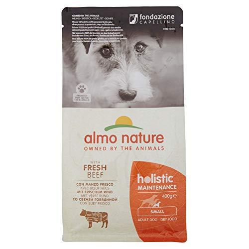 Almo Nature Dog Dry PFC Holistic Adult Buey Razas Pequeñas, 400 gr