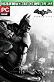 GM Batman Arkham City Pc Game Digital Download - NO STEAM CODE Batman: Arkham City is a 2011 action-adventure game developed by Rocksteady Studios and published by Warner Bros. Interactive Entertainment. Based on the DC Comics superhero Batman, it is...