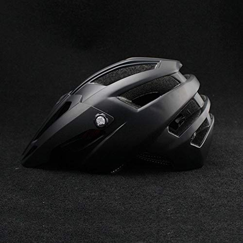 Stella Fella Casco de ciclismo para hombre, casco de bicicleta masculino, casco de bicicleta femenino, transpirable, cómodo, para adultos (color: negro)