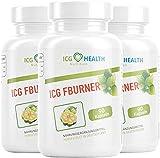 ICG Health Nutrition FBURNER – F burner für Frauen und Männer mit Garcinia Cambogia Fruchtextrakt (3 Dosen á 90 Kapseln)