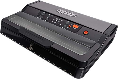 """PrimalTek 12' Commercial Grade Vacuum Sealer - User Friendly for Food Savers, 26"""" Vacuum Pressure – Features an Auto Cooling System, Smart Heat Technology, and Vacuum Bag Positioning Guides"""