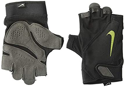 Nike Elemental Fitness Guantes Black/Dark Grey/Black/Volt M