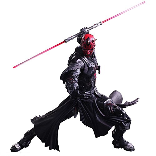 Sea Level 10' STAR WARS VARIANT PLAY ARTS Kai Darth Maul PVC painted action figure by Sealevel