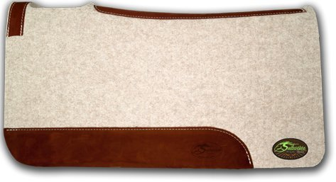 The Montana 100% Extra Fine Wool Saddle Pad by Southwestern 3/4' or 1' Thick and Designer Wear...
