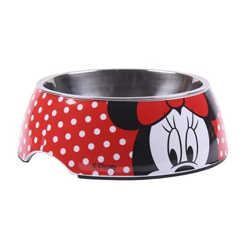 Cerdá - For Fan Pets   Comedero para Mascotas de Minnie Mouse - Licencia Oficial Disney