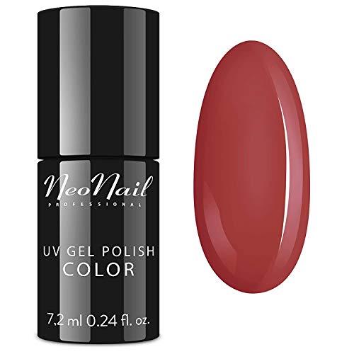 NEONAIL UV Nagellack 7,2 ml - Fall in Love Gel Lack Maniküre UV Gel Polish Nagellacke (6376-7 Hazelnut Butter) die beste Qualität Effizient