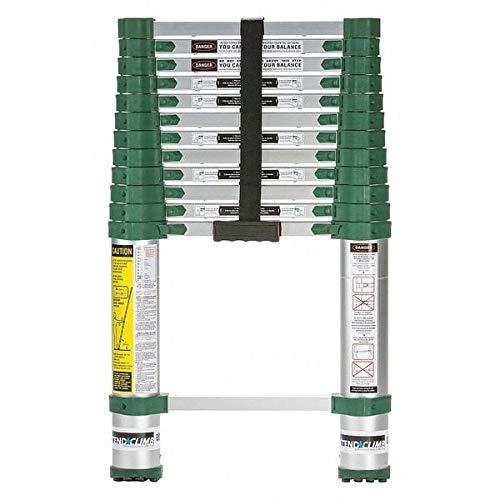 Telescoping Ladder, Extended 12 ft. 6