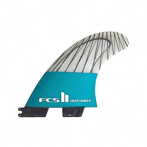 FCS II Performer Performance Core Carbon Thruster Fin Medium Teal