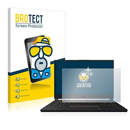 BROTECT Entspiegelungs-Schutzfolie kompatibel mit MSI GS65 8SF-264DC Bildschirmschutz-Folie Matt, Anti-Reflex, Anti-Fingerprint