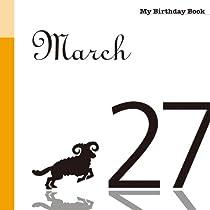 3月27日 My Birthday Book