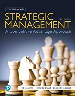 Strategic Management: A Competitive Advantage Approach, Concepts and Cases [RENTAL EDITION]