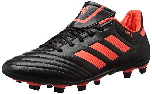adidas Men's Copa 17.4 FxG Soccer Shoe, Black/Solar Red/Solar Red, 10.5 Medium US