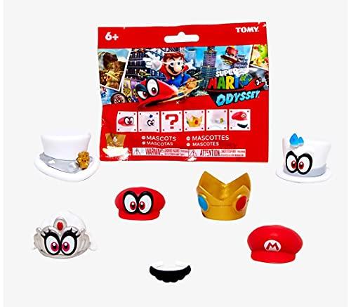 super mario brothers blinds C&U Super Mario Odyssey - Mascots - Cappy Bottle Cap Blind Bag, Mystery