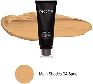Note Luminous Moisturizing Foundation 04 - Sand