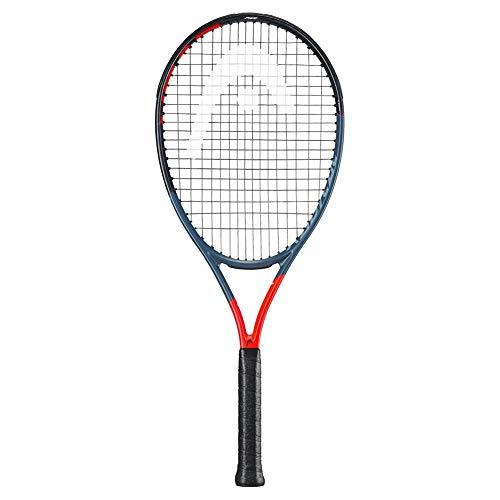 "2019 Head Graphene 360 Radical PWR - Raqueta de tenis con cuerdas personalizadas, 4 3/8"" Inch Grip, Natural String"