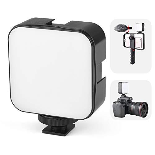 Venidice LED 49 Video Light, Mini Portable Soft Light work with AA...