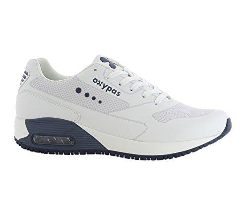Oxypas Justin JustinS4301nav Arbeitsschuh/Sneaker, Schutzklasse SRC