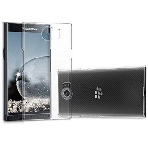 kwmobile BlackBerry Priv Hülle - Handyhülle für BlackBerry Priv - Handy Case in Transparent