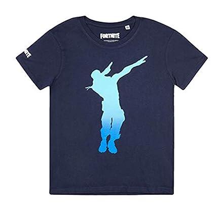Fortnite Camiseta para Niños (10 años, Azul)