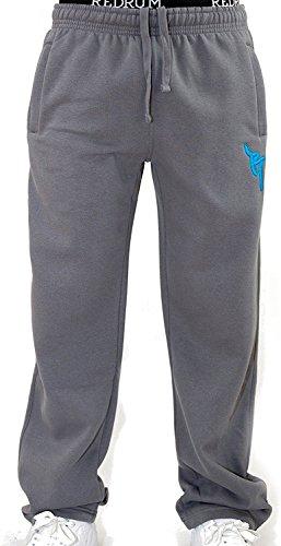 REDRUM Jogginghose Casual Streetwear Modell Bronx (Dunkel Grau/Blau, Größe XS)