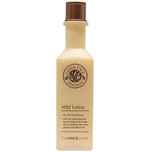 The Face Shop - Mild Lotion - Teebaumöl Lotion gegen trockene Haut für Frauen und Männer - Porenpflegelotion - Unreine Haut